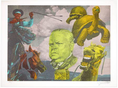 Lithograph Erro - Orson Welles