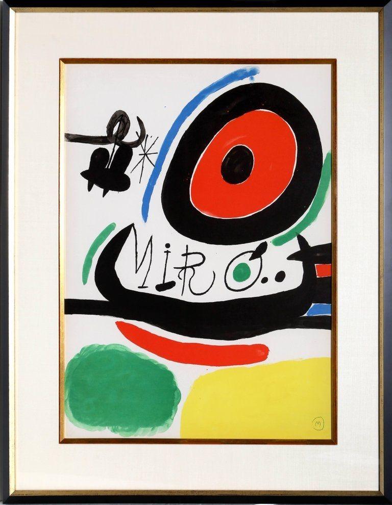 Lithograph Miró - Osaka Exhibition (M. 680)