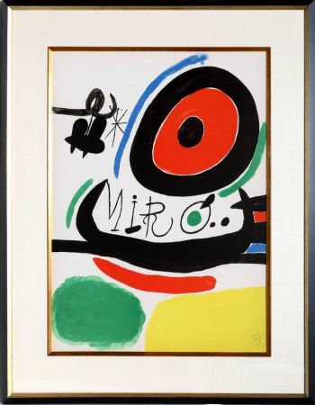 Lithograph Miró - Osaka Exhibition (M. 680)