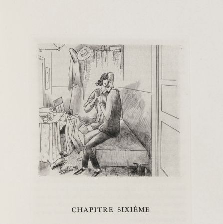 Illustrated Book Laboureur - Oscar Wilde : LE PORTRAIT DE DORIAN GRAY. 23 gravures originales (1928)