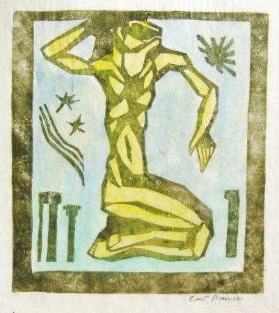 Woodcut Stoermer - Osiris
