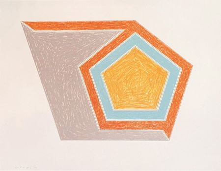 Lithograph Stella - Ossipee