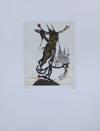 Etching And Aquatint Zush - Osundro