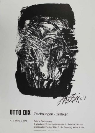 Lithograph Dix - Otto Dix Zeichnungen - Grafiken