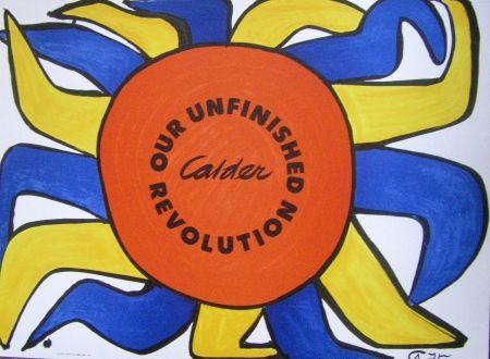 Poster Calder - Our unfinished revolution