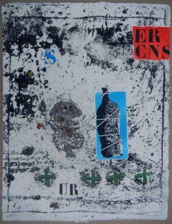 Carborundum Coignard - Ouverture Bleue from the portfolio Nous sommes de terre