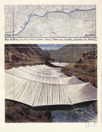 Offset Christo - Over The River I, Above
