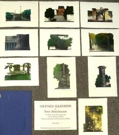 Screenprint Abrahams - Oxford Gardens I-X