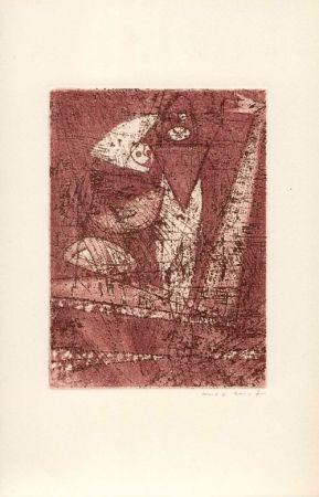 Etching And Aquatint Ernst - PÉRET (Benjamin). Mort aux vaches et au champ d'honneur.