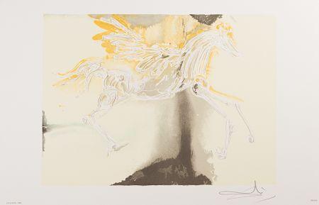 Lithograph Dali - Pégase (Pegasus)