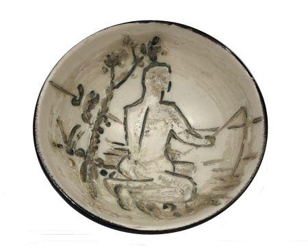 Ceramic Picasso - Pêcheur à la ligne