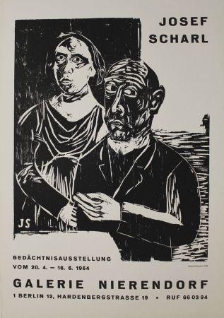 Woodcut Scharl - Paar