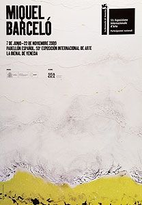 Poster Barcelo - Pabellon Espanol, Biennale di Venezia