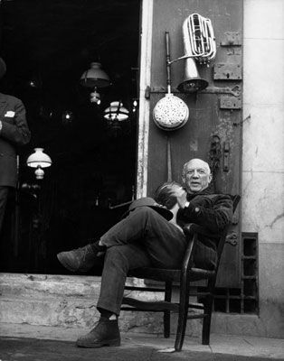 Photography Clergue - PABLO PICASSO