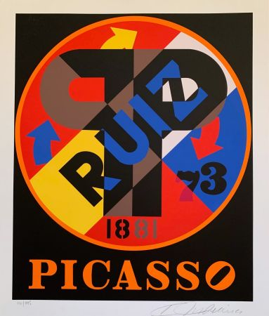 Screenprint Indiana - Pablo Picasso
