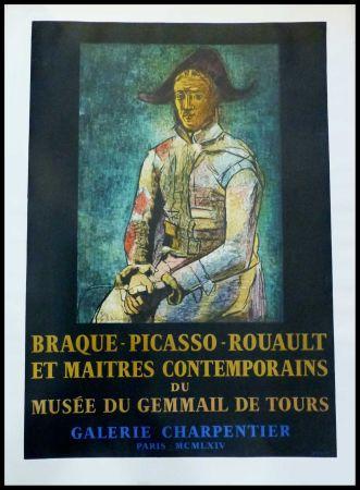 Poster Picasso - PABLO PICASSO, MUSÉE DU GEMMAIL À TOURS GALERIE CHARPENTIER
