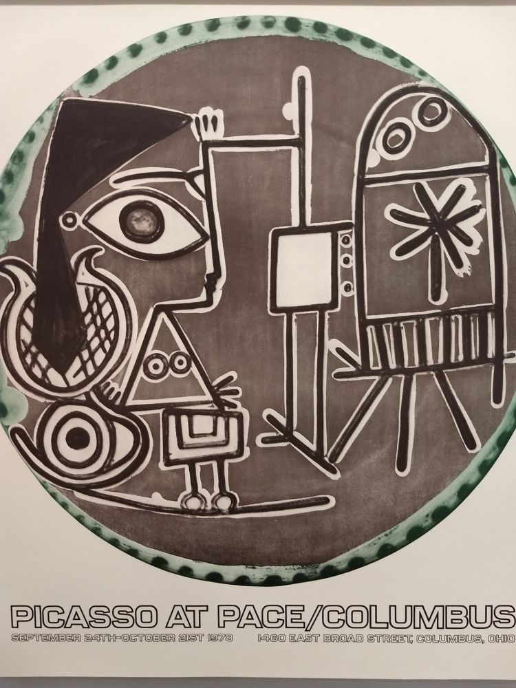 Lithograph Picasso (After) - Pace