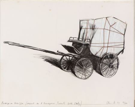 Multiple Christo - Package on carrozza