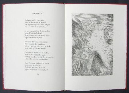 Illustrated Book Sassu - Page blanche beau desert