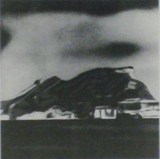 Lithograph Equipo Realidad - PAISAJE - Vista de Gilbraltar en julio de 1936