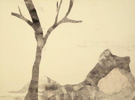 Monotype Ikemura - Paisajes con el monte Fuji 12