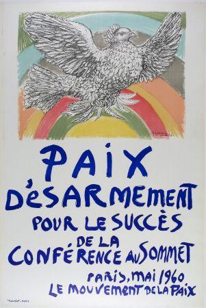 Lithograph Picasso - Paix D'esarmement