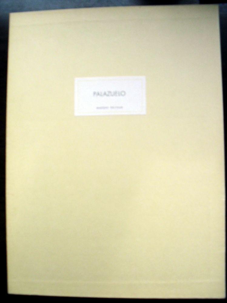 Illustrated Book Palazuelo - PALAZUELO. DERRIÈRE LE MIROIR N° 184. Mars 1970. Tirage De Luxe SIGNÉ