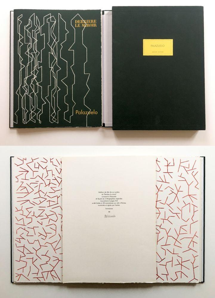 Illustrated Book Palazuelo - PALAZUELO. DERRIÈRE LE MIROIR n° 229. Mai 1978. TIRAGE DE LUXE SIGNÉ.