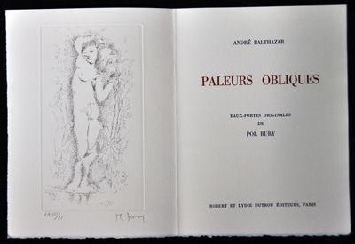 Illustrated Book Bury - Paleurs obliques