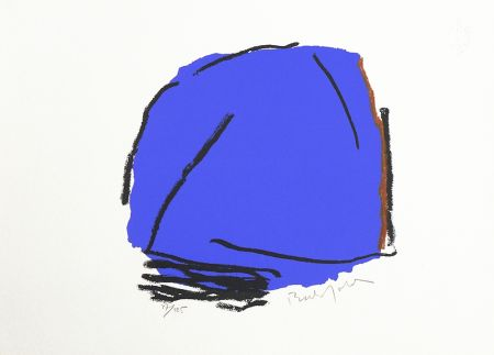 Screenprint Bechtold - Palma Azul
