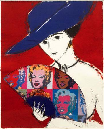 Etching Valdés - Pamela I (Warhol)