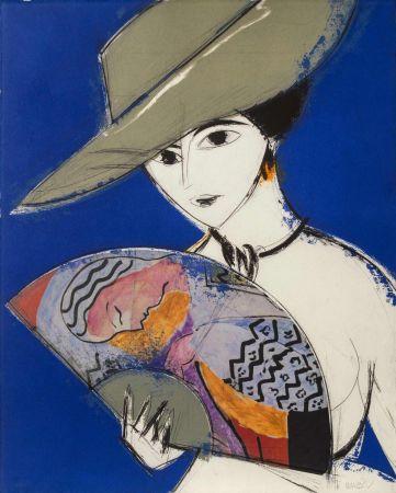 Etching And Aquatint Valdés - Pamela III - Chagall