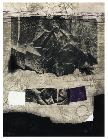 Etching Clavé - Papier froissé