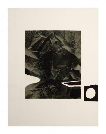 Lithograph Clavé - Papier Froissé