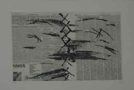 Engraving Tàpies - PAPIER JOURNAL