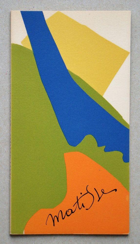 Illustrated Book Matisse - Papiers Découpés