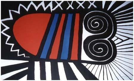 Lithograph Calder - Papoose