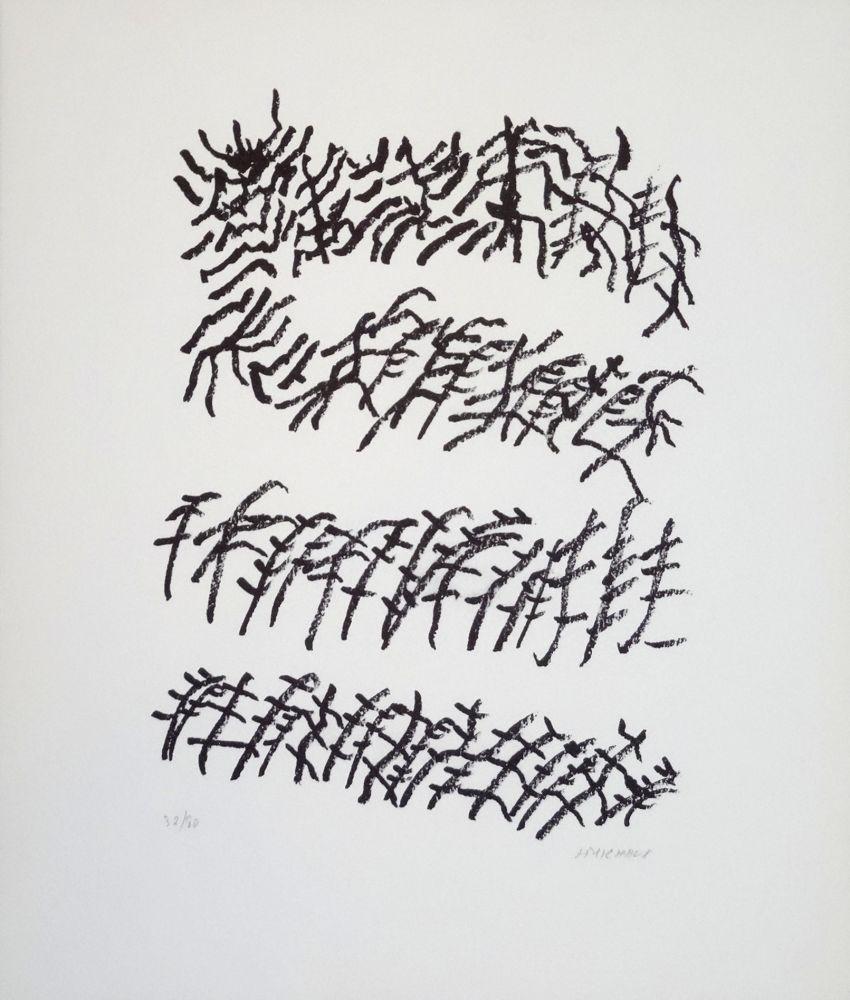 Lithograph Michaux - Par la voie des rythmes
