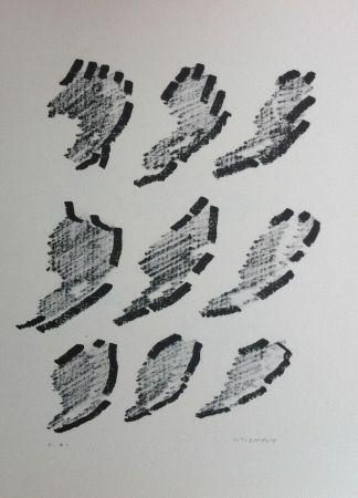 Lithograph Michaux - Par la voie des rythmes 152