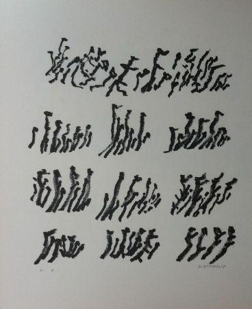 Lithograph Michaux - Par la voie des rythmes 154