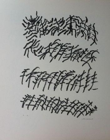 Lithograph Michaux - Par la voie des rythmes 156