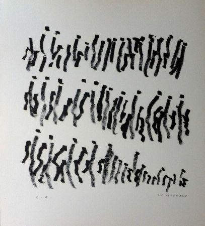Lithograph Michaux - Par la voie des rythmes 157