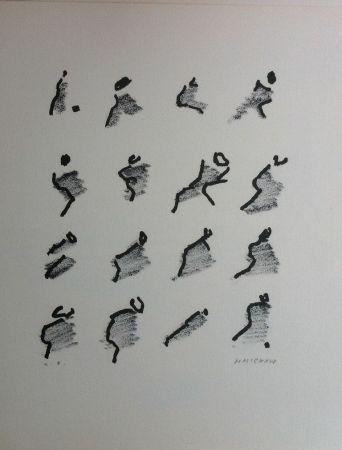 Lithograph Michaux - Par la voie des rythmes 159