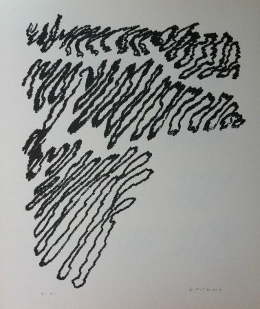 Lithograph Michaux - Par la voie des rythmes 163