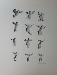 Lithograph Michaux - Par la voie des rythmes 166