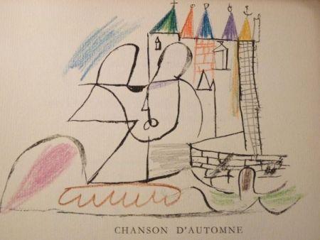 Illustrated Book Roux - Par Robert Ganzo. Avec vingt-trois lithographies rehaussées de couleurs de Gaston-Louis Roux.