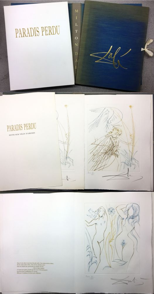 Illustrated Book Dali - PARADIS PERDU. (Paradis terrestre : Quatrième chant)