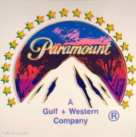 Screenprint Warhol - Paramount (FS II.352)