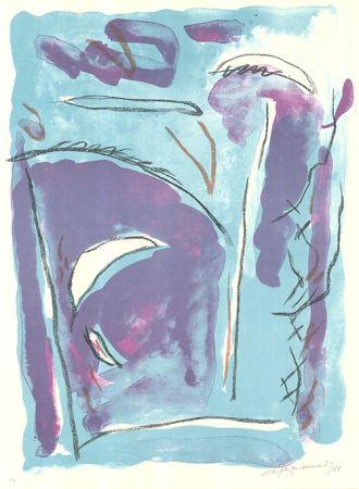 Lithograph Ràfols Casamada - Parc-5