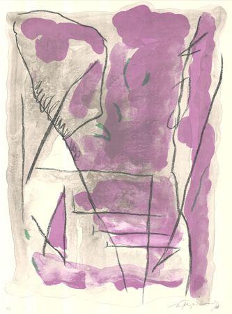 Lithograph Ràfols Casamada - Parc-6